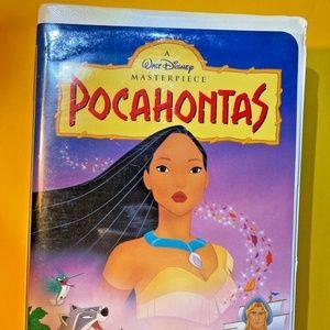 Vintage VHS Tape Pocahontas Masterpiece Disney
